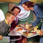 Essa comida de bordo é uma porcaria!